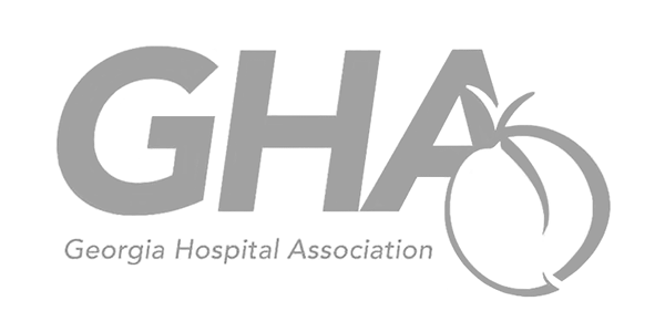 Georgia Hospital Association logo.